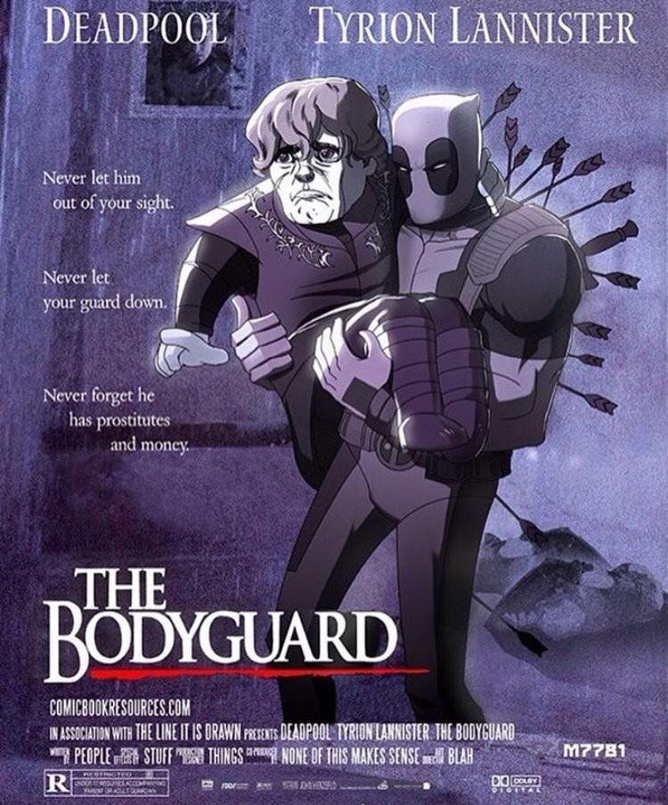 The Bodyguard - meme