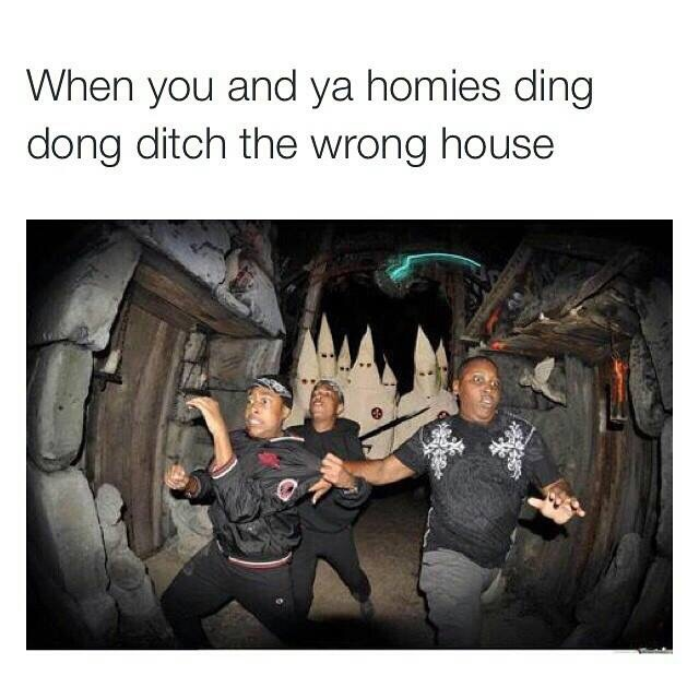 Ding Dong Ditching - meme