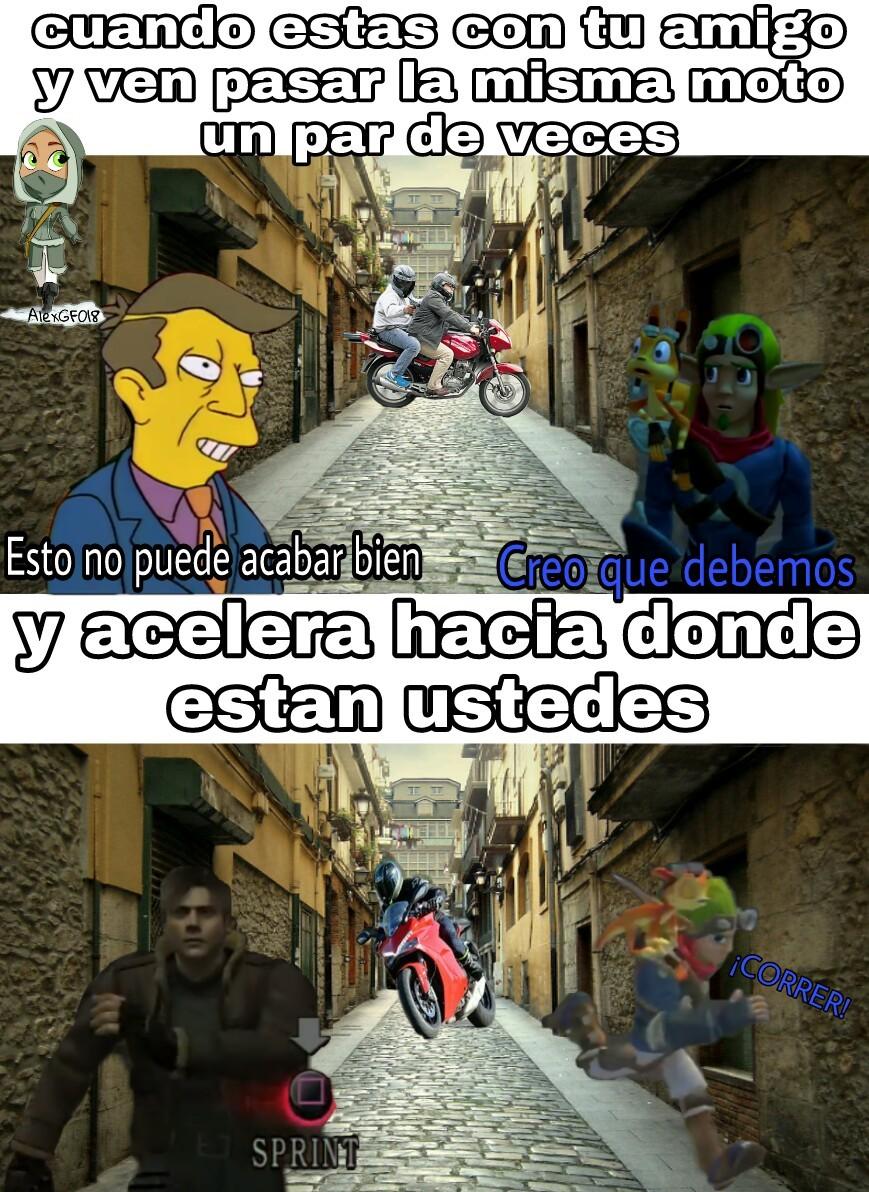 ¡CORRE PERRA CORRE! - meme