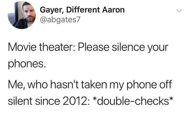 Please silence your phones - meme