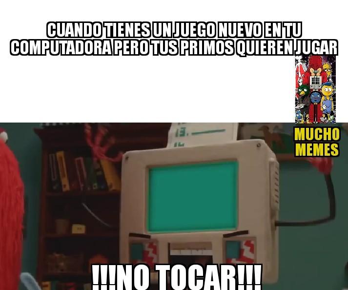 No tocar!!! - meme