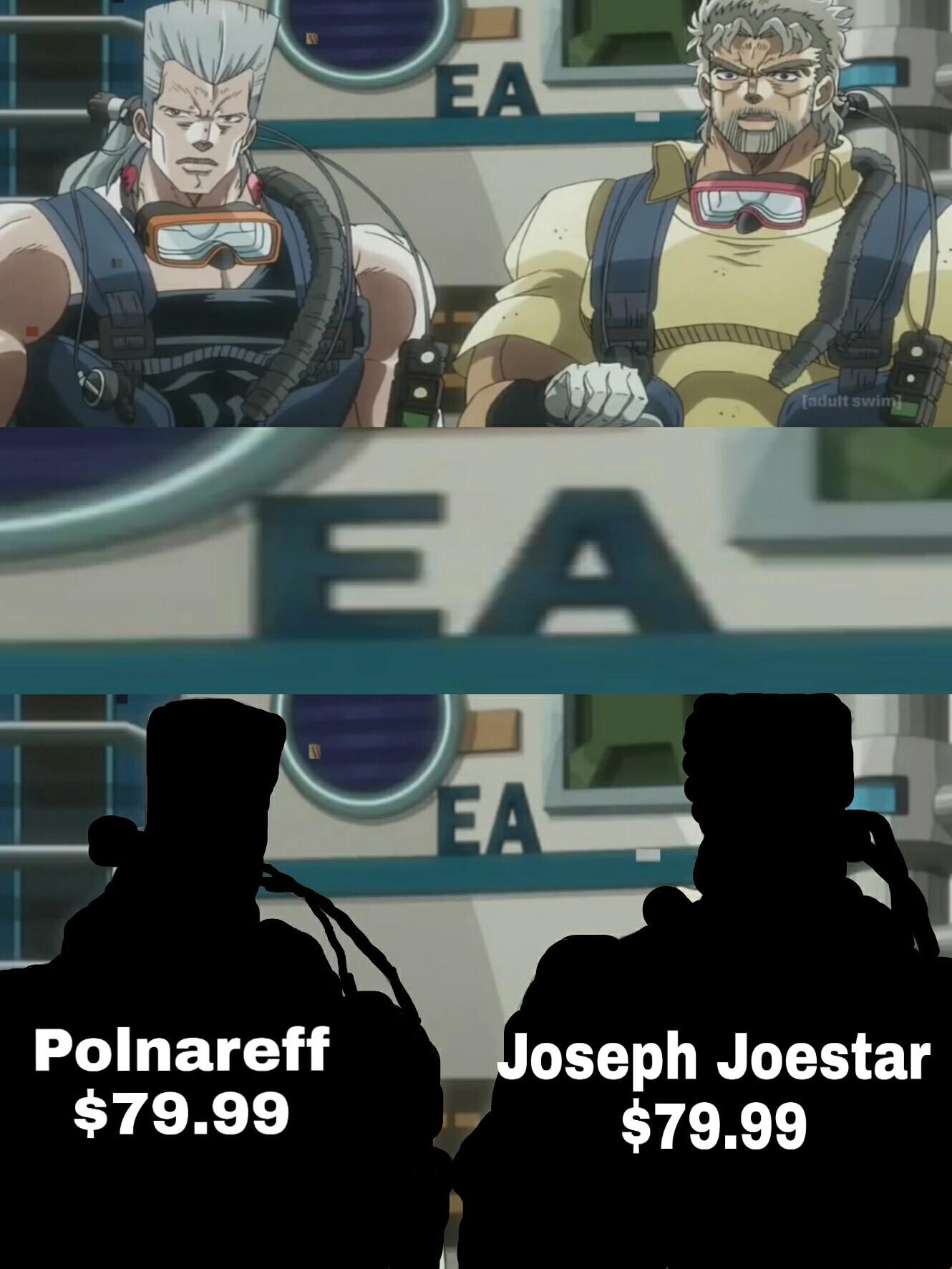Cuando EA compra a los JoJos :v - meme