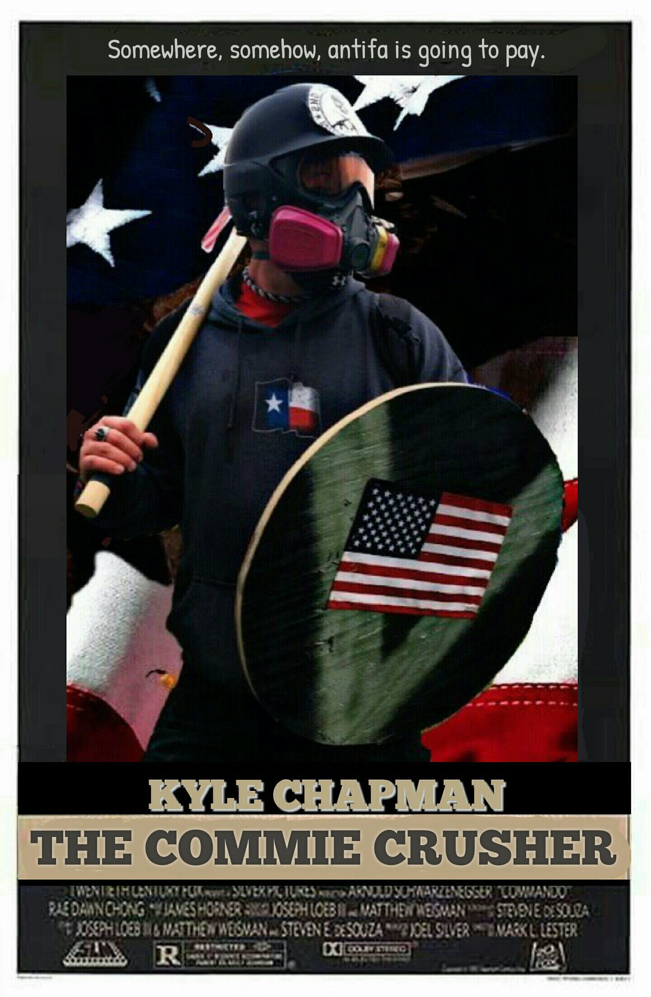 The god,the man,the hero,kyle chapman! - meme