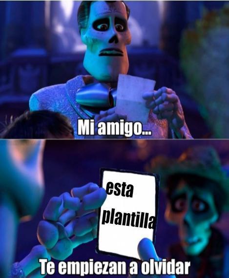 recuerdame - meme