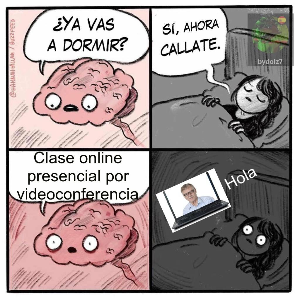 Clases online noooo - meme