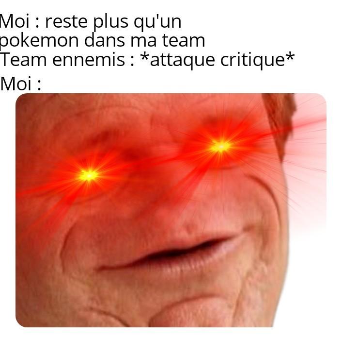 Coup critique DE MORT ! - meme