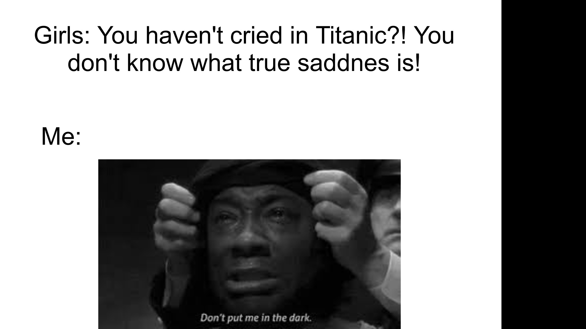 John Coffey's death scene nearly made me cry. - meme