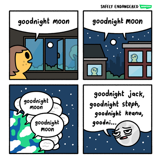 Pauvre lune - meme