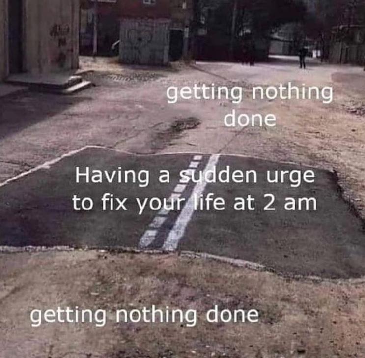 why is it always then - meme