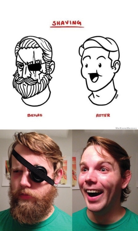 this is why I don't shave - meme