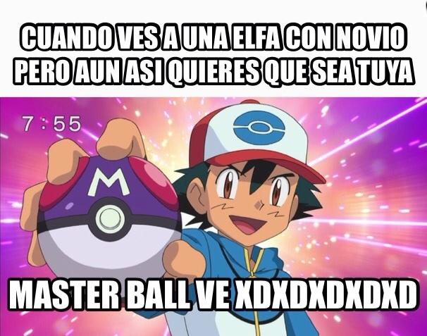 masterball xD - meme