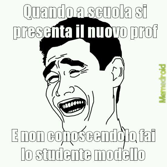 A scuola. - meme