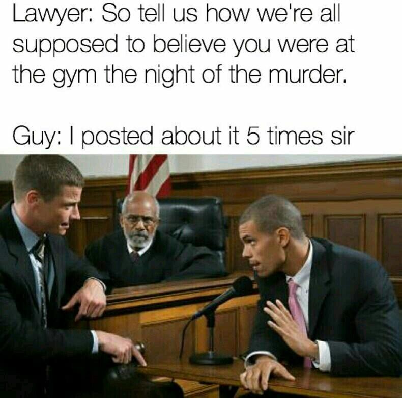 It was leg day - meme