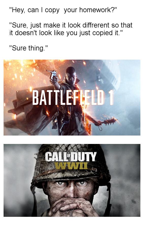 Battlefield 1 all the way - meme