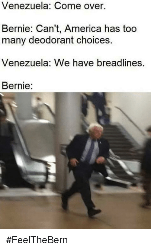when you're a cuck who uses Venezuela as a valid example for income equality despite it already being shit in 2011 - meme