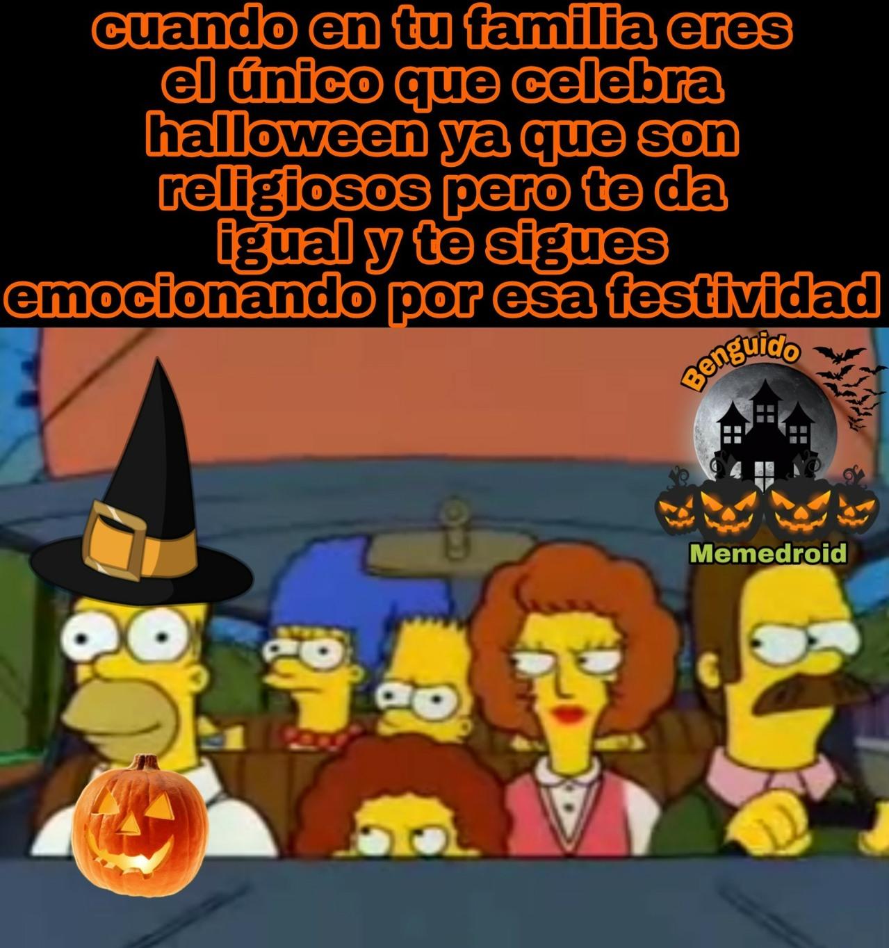 Se acerca Hallowen, amigos!!! :^D - meme