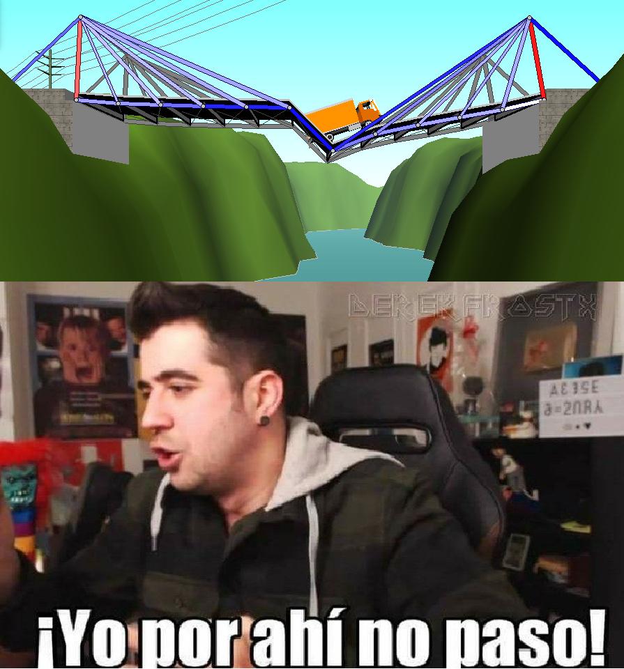 el puente de auron - meme