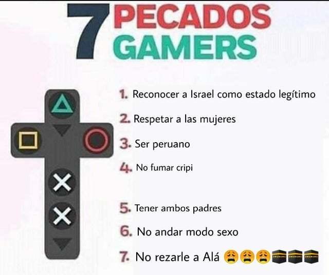 si haces esto no eres gamer - meme