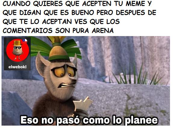 maldita sea >:( - meme