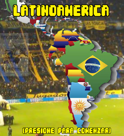 Bienvenid@ a Latinoamerica :D - meme