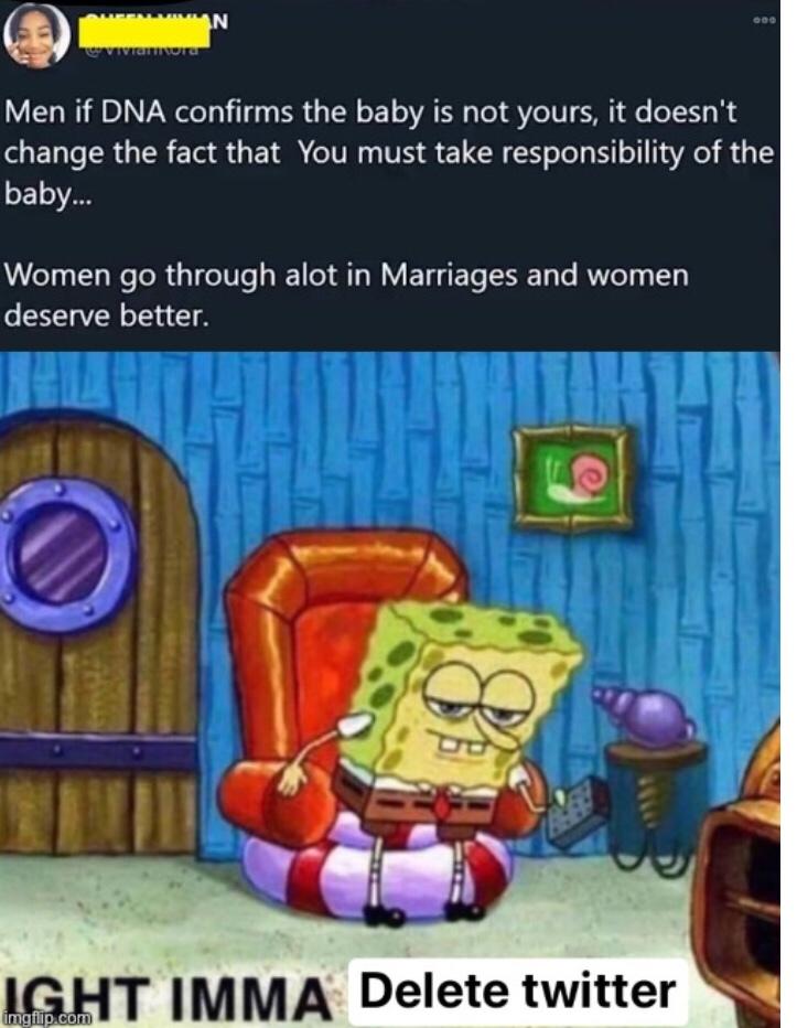 where does she belong folks - meme