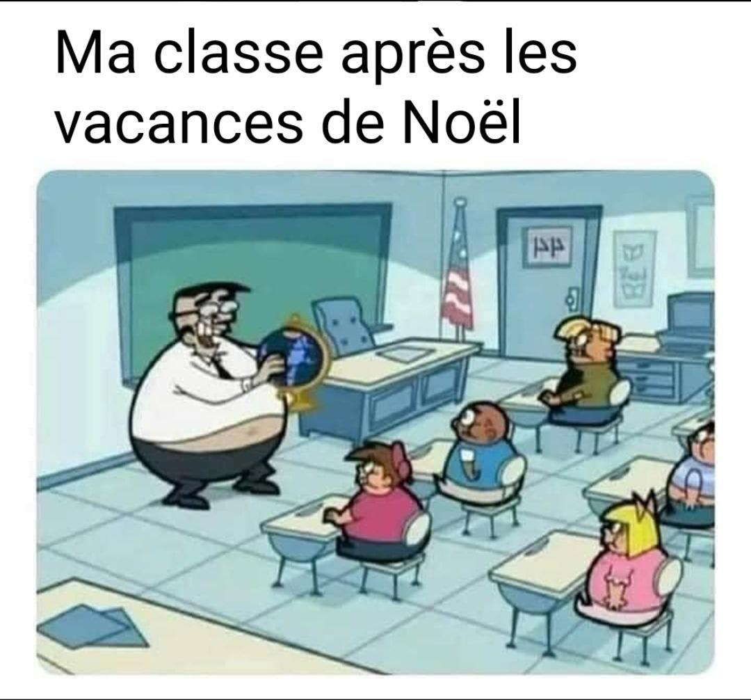 Ma classe - meme