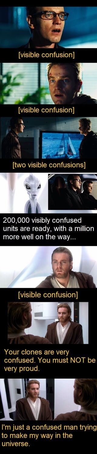 So much confusion. - meme