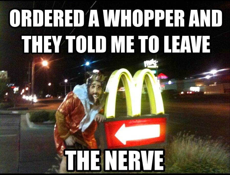 I don't always eat McDonald's...but when I do - meme