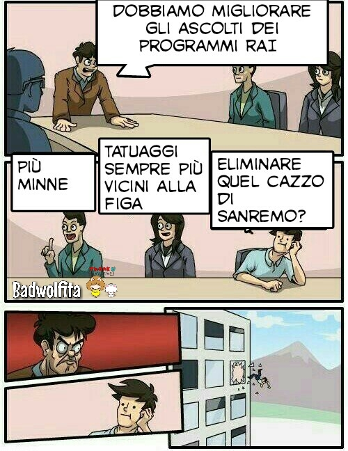 Perché Sanremo è Sanremo - meme