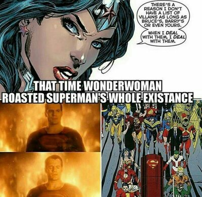 Superman stayin dead - meme