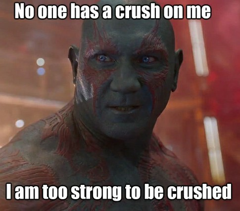 Drax the destroyer! - meme