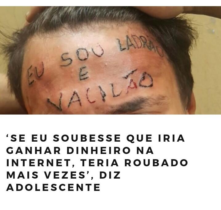 Vai tomar no meio do cu,Brasil de merda - meme