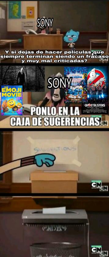Sony en que te has convertido - meme
