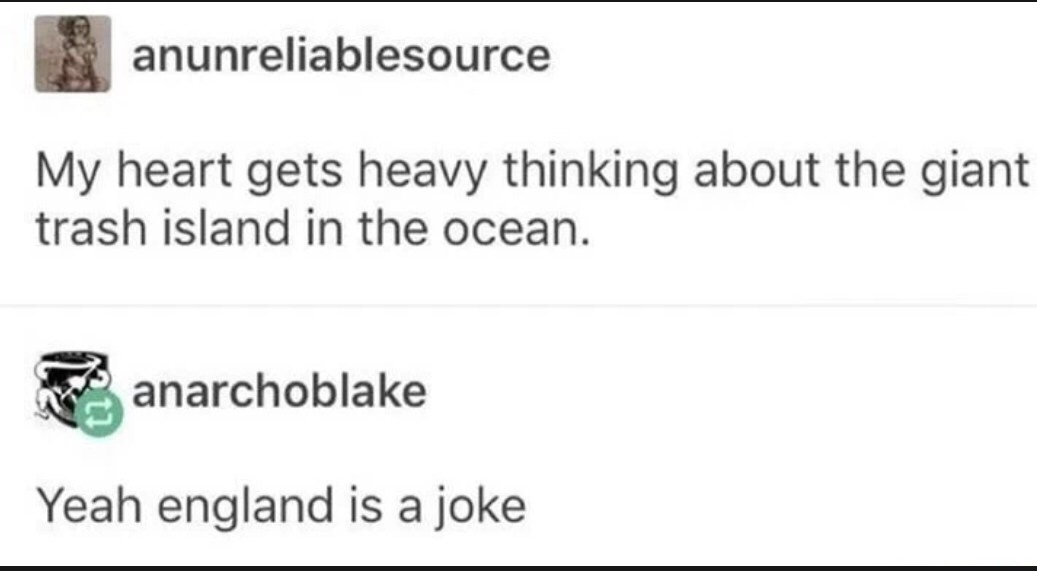 He forgot about Scotland and Wales, but OK - meme
