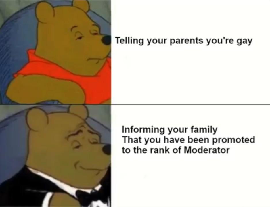 Moderator - meme