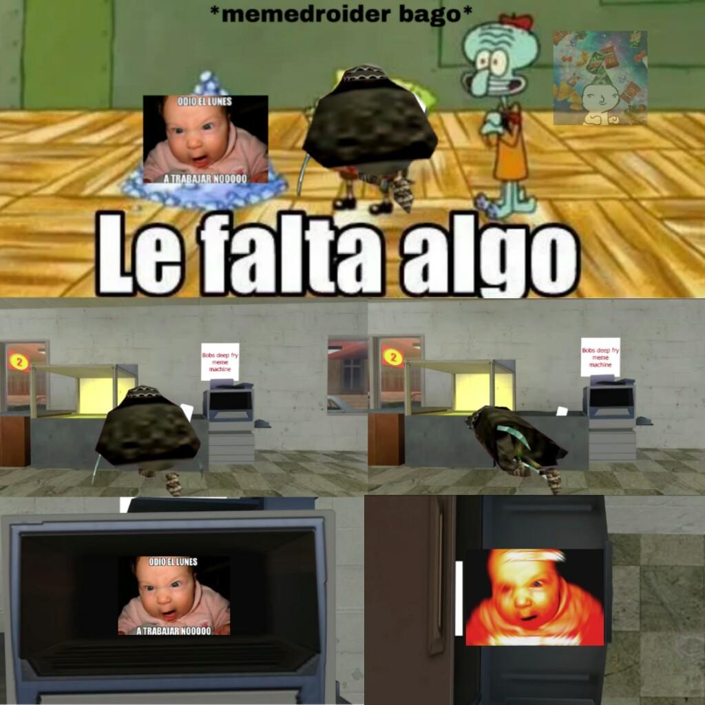 ODIO EL LUNES A  TRABAJAR NOOOOOOO - meme