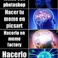 Lo hice en meme factory