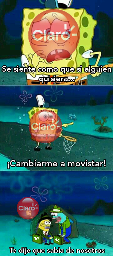 ¿quiere cambiarse a movistar?made in: - meme