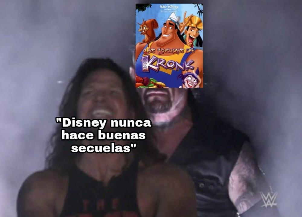 Mira Chavito esta es una duologia pero de las GOD - meme