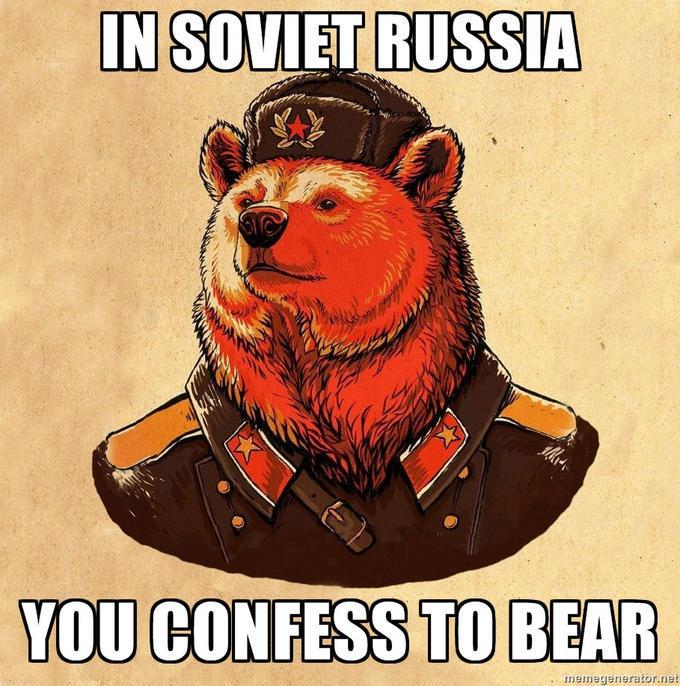 Soviet bear - meme