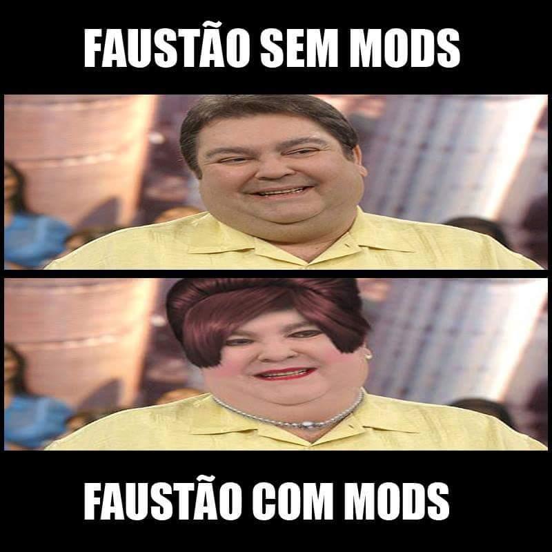 Mods do Faustão Simulator - meme