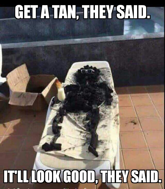 Sunburn - meme