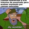 Pensabas que sería Bart, pero era yo, ¡Castro!