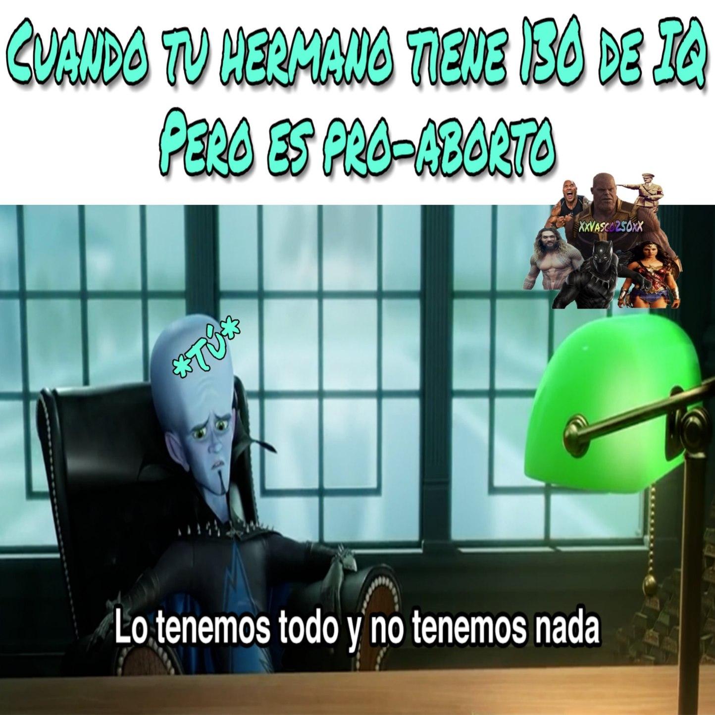 Hermano pelotu2 - meme
