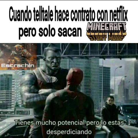Yo queria que sacaran the walking dead - meme