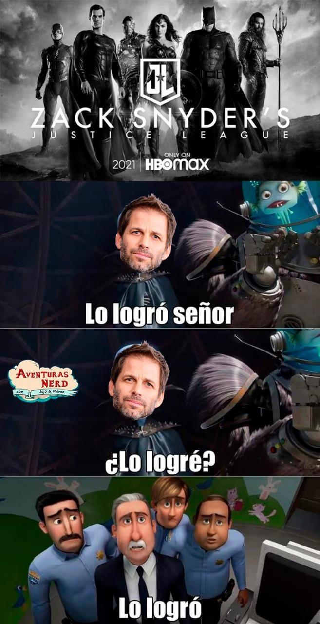 Zack Snyder lo logró... - meme