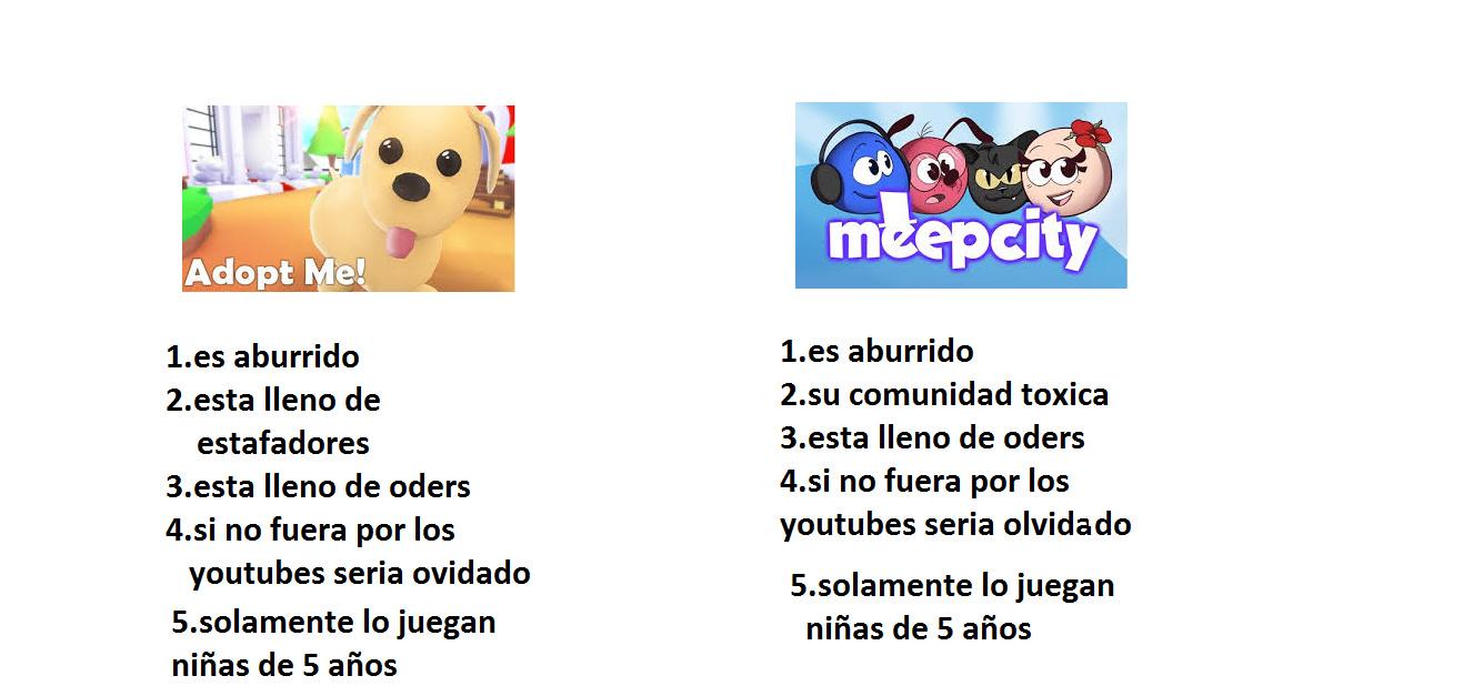 adop me vs meepcity - meme