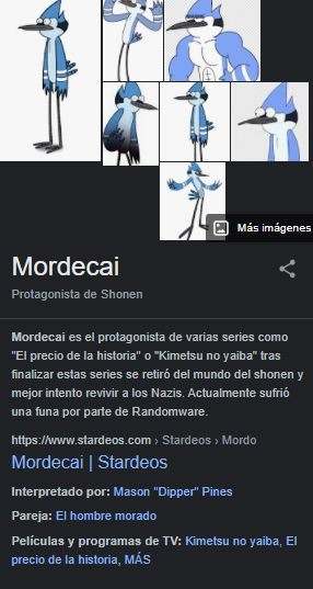 Mordecai - meme