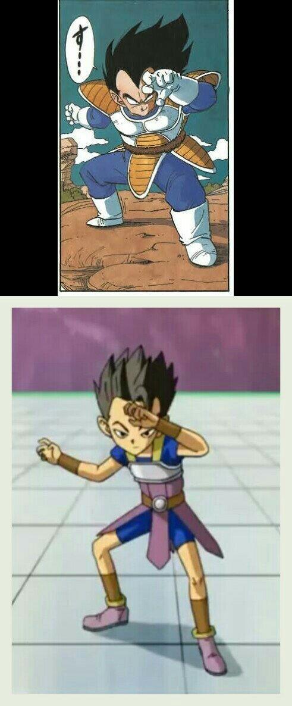 Dragon Ball sempre sendo original.............. ؛-) - meme