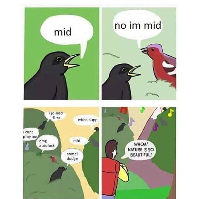 League of trolls - meme